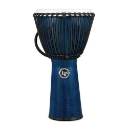 LP Djembe World Beat FX Rope Tuned LP725B Blue