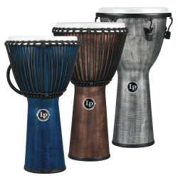 LP Djembe World Beat FX Rope Tuned LP724G Gray