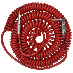 Bullet Cable 30 Coil Cable Red (Str-Ang)