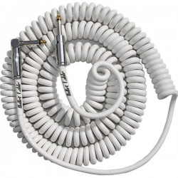 Bullet Cable 30 Coil Cable White (Str-Ang)