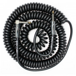 Bullet Cable 30 Coil Cable Black (Str-Ang)