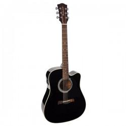 Richwood D-40CE Master Series Dreadnought Black