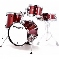 Ludwig Break Beat shellpack - Wine red sparkle
