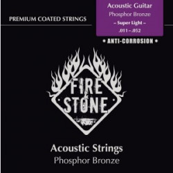 Fire & Stone Coated Acoustic Super Light 11-52