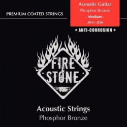 Fire & Stone Coated Acoustic Medium 13-56