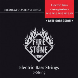 Fire & Stone Elbassträng Nickel Alloy 45-130 5str
