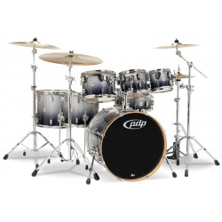 PDP Concept Maple CM6 PDCM2216SBH Silver to Black Sparkle