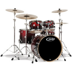 PDP Concept Maple CM5 PDCM2215RBH Red to Black Sparkle