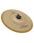 Silent cymbals